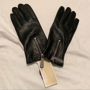NWT Michael by Michael Kors Leather Gloves